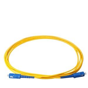 Image 5 - 10 meter SC SC SM SX 3mm 10 M 9/125um SC/PC Glasvezel Patchkabel Optische fiber Jumper Kabel