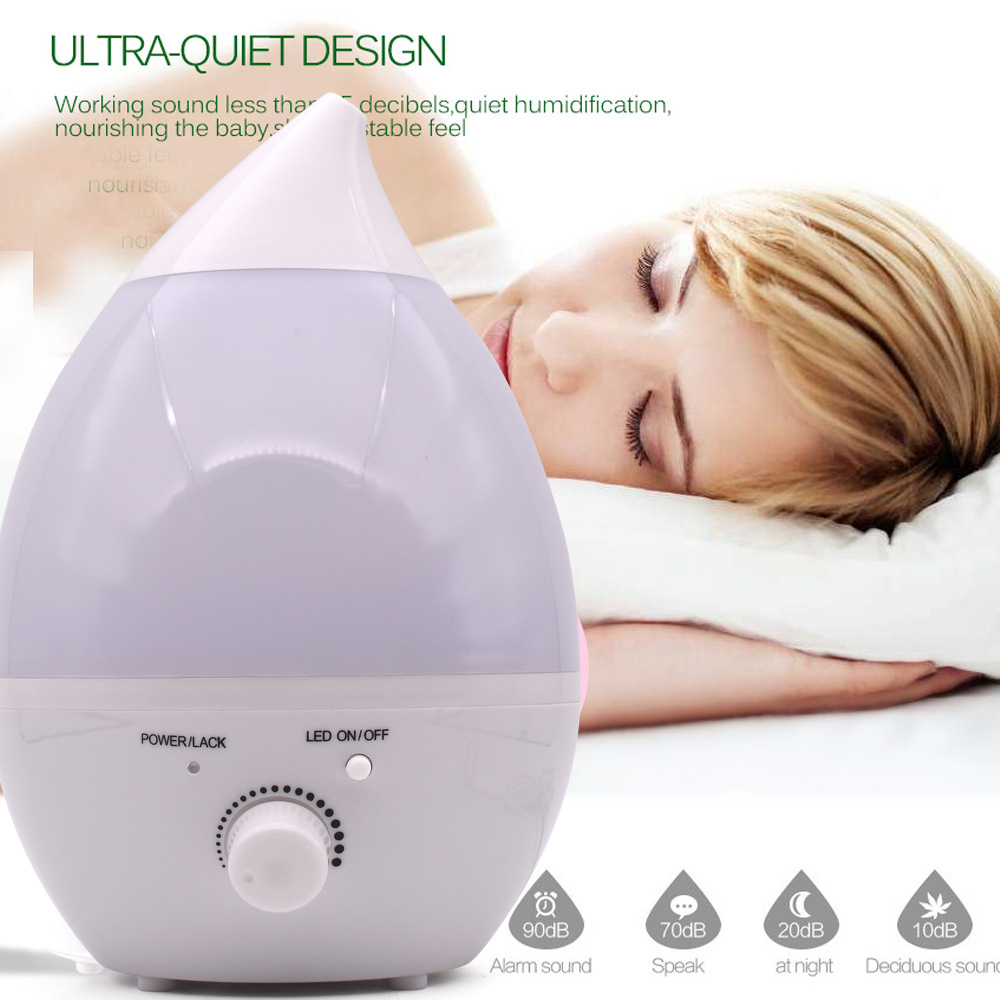Air Humidifier 1300ml Aroma Essential Oil Diffuser LED light air diffuser purifier aromatherapy diffusers in home