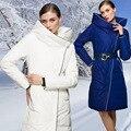 Big Brand Down Coat Fashion Winter Woman Long Coat 2016 Luxury White Duck Down Coat Thick Warm Women Outerwear Coats DX241