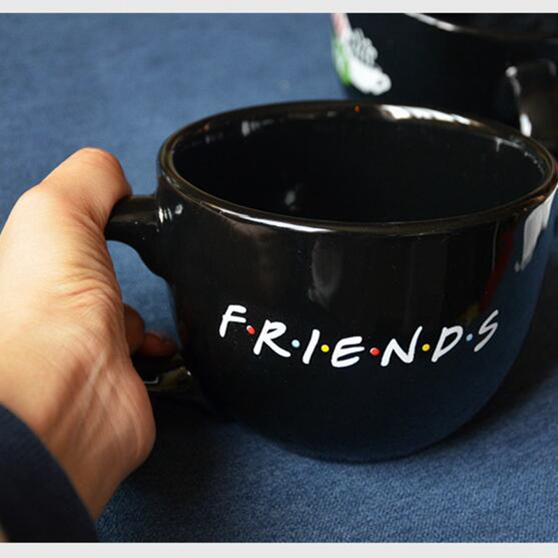 office cups. Aliexpresscom Buy Friends TV Show Series Central Perk Coffee Time Cups Black 650ml Ceramic Mugs Office Tea Cup Breakfast Mug Drop Shipping From