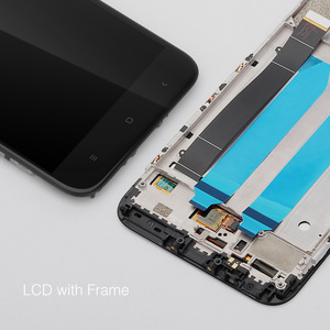 Image 4 - 100% Original For Xiaomi Mi A1 LCD Display + Frame 10 Touch Screen For Xiaomi Mi 5X LCD Screen Digitizer Replacement Spare Parts