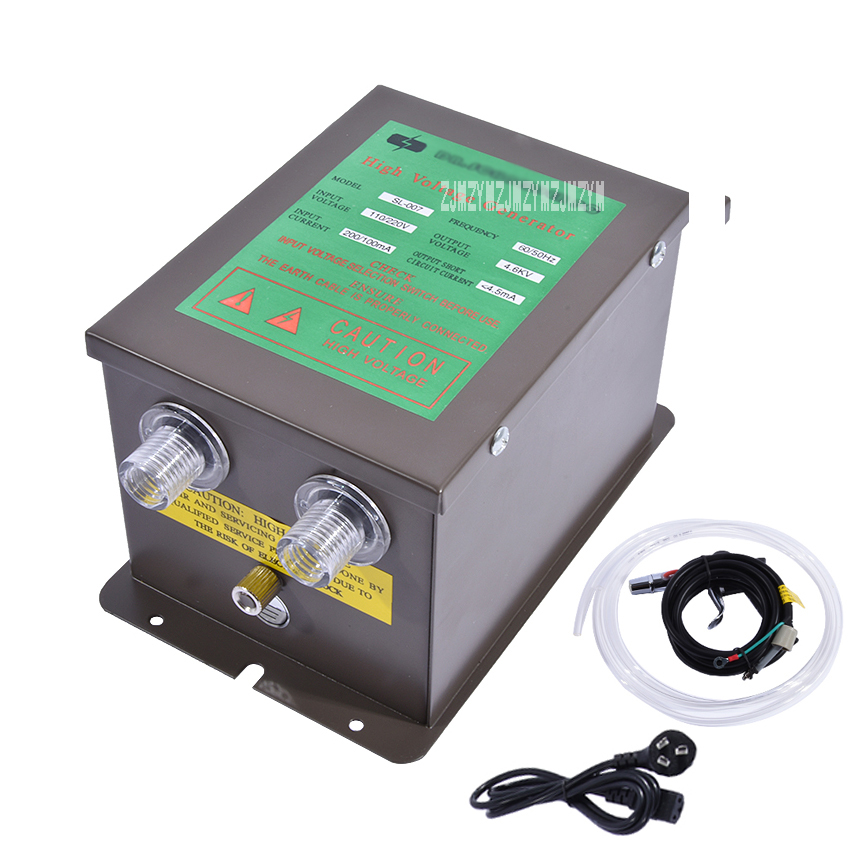 New SL-007 Dust Removal Static Eliminator High Voltage Generator Power Supply+ SL-004 Ionizing Air Gun Lonizing Air Blower 220v feita sl 004 esd ionizing air gun lonizing air blowers static eliminate equipment sl007 static eliminator power supply 110v 220v