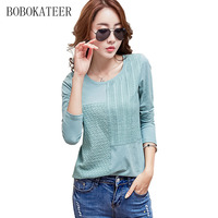 BOBOKATEER Blusas Feminina 2017 Summer Tops Women Blouses Casual Shirts White Blouse Plus Size Women Clothing
