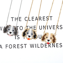 FAIRYWOO New Pendant Necklace For Women Cute Animal Jewelry Handmade Bead Necklace Gold And Silver Chian Long Necklaces Fashion fairywoo new 3 styles animal pendant necklace for women 2019 fashion cute cat jewelry gold chains handmade necklace glass beads