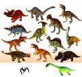 Бесплатная доставка большой модели динозавров игрушки 12 pic / серия 15 - 18 см динозавров игрушки животная модель куклы 12 видов динозавров парк юрского периода