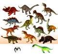 Envío gratis grande modelo de juguete de dinosaurio 12 pic / lot 15 - 18 cm modelo animal juguetes dinosaurio muñeca de juguete 12 tipos dinosaurio Jurassic Park
