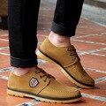 Hombres Zapatos Casual Clásico Nueva Moda Casual zapatos Planos de Los Hombres Zapatos Superestrella wark de Alta Calidad Respirable Cómodo