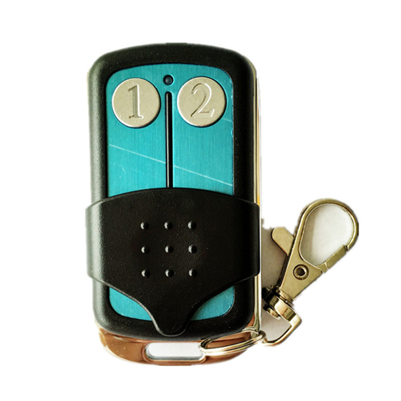 Hot sale malaysia 5326 433mhz dip switch auto gate remote control,transmitter,keyfob with metal sliding cover Free shipping binge elec 16 buttons remote controller 433 92mhz only work as binge elec remote touch switch hot sale