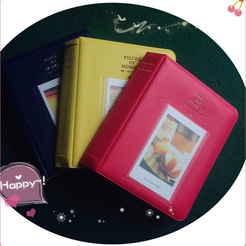 Кейс для альбома для хранения Polaroid Photo New 64 кармана для кредитных карт, банковских карт, ID карт, цветная пленка для FujiFilm Instax Mini