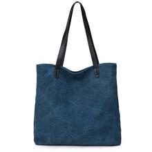 Neue Frauen Leinwand Handtasche Schulter Handtasche Weiblichen Große Kapazität Damen Strandtasche Frauen Leinwand Tote Einkaufstaschen