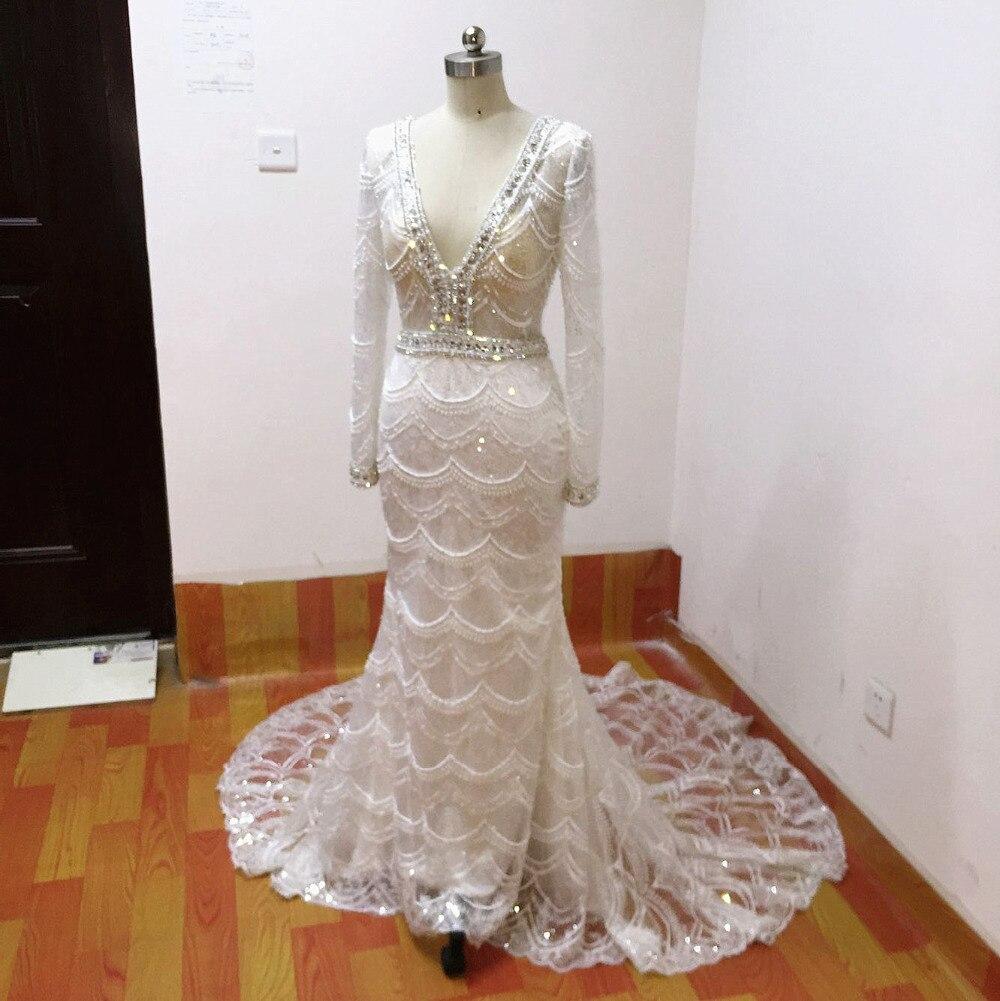 Rochii de mireasa rochii de mireasa 2017 rochie de mireasa dantelă - Rochii de mireasa - Fotografie 2