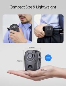Image 4 - BOBLOV PD50 32GB Polizei Körper Kamera Recorder HD 1296P Politie Kamera de corpo Infrarot Nachtsicht Getragen Policia kamera Körper Cam