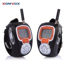 2 PCS Rd-008b Портативна цифрова Walkie Talkie двостороння Радіо Годинники для Outdoor Спорт Hiking 462mhz