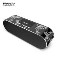 Bluedio 2018 Real Mp3 Enceinte Bluetooth ALS Bluetooth Speaker Draagbare Wifi Luidsprekers Sound Systeem 3D Stereo Muziek Met Microfoon