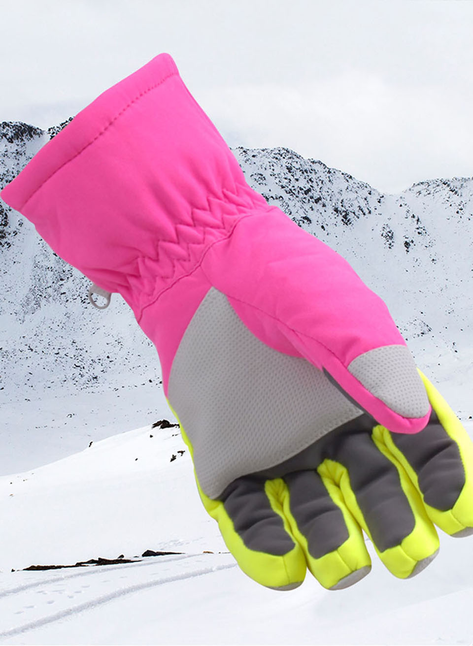 Winter Warm Snowboarding Ski Gloves men women Kids Snow Mittens Waterproof Skiing Breathable Air S/M/L/XL