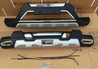 Lane légende cas fit pour 2014-2016 Nissan X-TRAIL ABS Avant + Arrière D'origine usine Pare-chocs De Voiture Pare-chocs Protecteur garde Plaque de protection