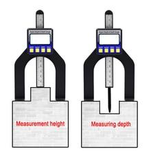 Цифровой штангенциркуль, измеритель высоты, цифровой измеритель глубины протектора, ЖК-дисплей, магнитная апертура 0-80 мм