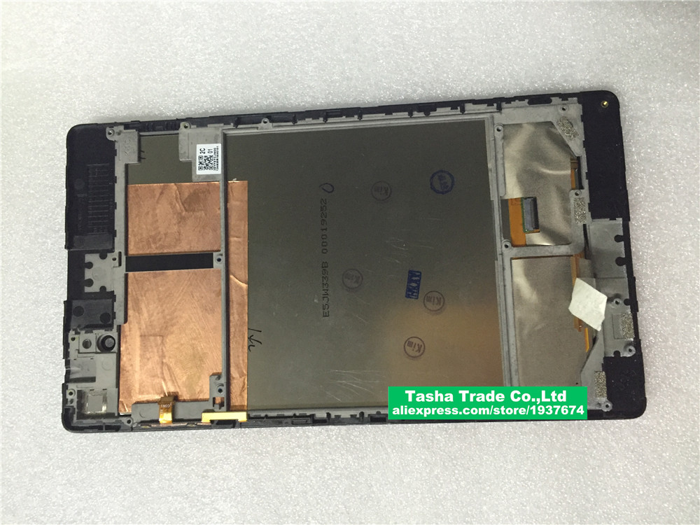 For Asus Google Nexus 7 2nd (2013) 5337L FPC 2 Touch Screen Panel Digitizer Glass LCD Display Assembly Replacement
