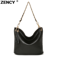 15 Colors Spring Genuine Leather Women S Shoulder Bags Casual Tassels Handbags Ladies Small Messenger Bag