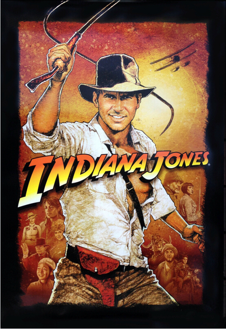 Image result for indiana jones movie poster