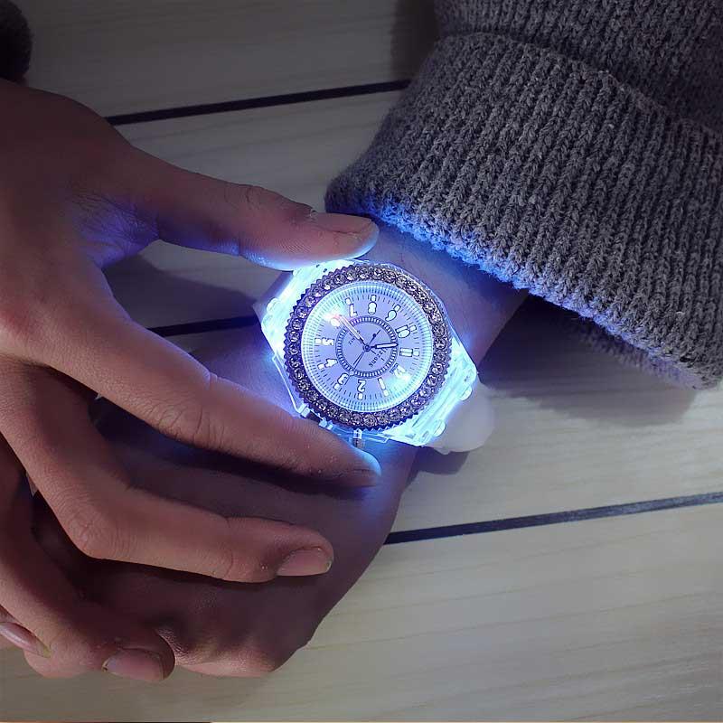 led light watch, Luxury Ladies Watch, led light watch for women, led light watch for students, watch for women, watch for students