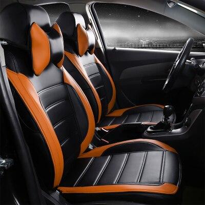 Housses de siège automobile pour Cadillac CTS CT6 SRX DeVille Escalade SLS ATS-L/XTS CC personnalisées à l'origine en cuir pu