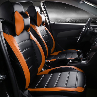 automotive seat covers for Cadillac CTS CT6 SRX DeVille Escalade SLS ATS-L/XTS CC customized originally match pu leather cushion