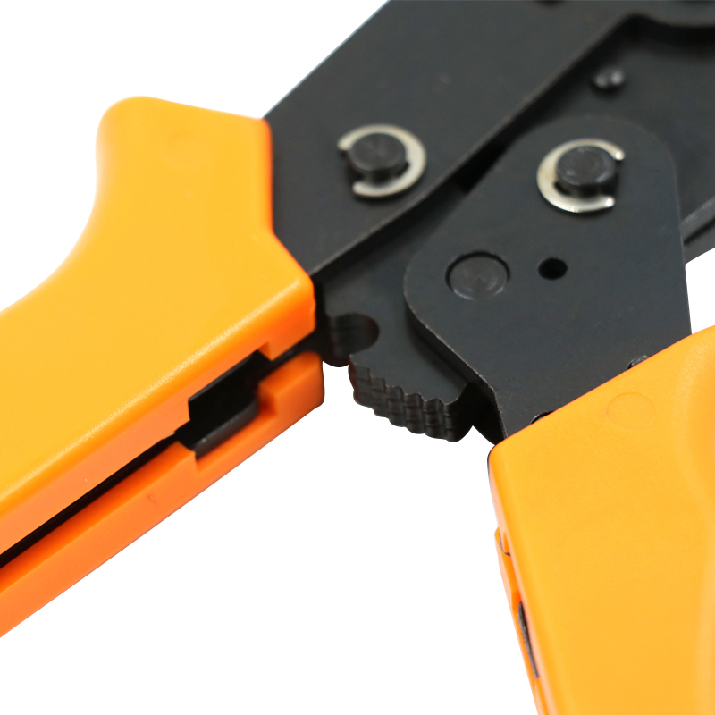 Купить с кэшбэком COLORS HSC8 SN-02WF2C 0.5-2.5mm crimping plier crimper kablo kesici  pliers cable tools crimp plier wire cutter crimpador mini