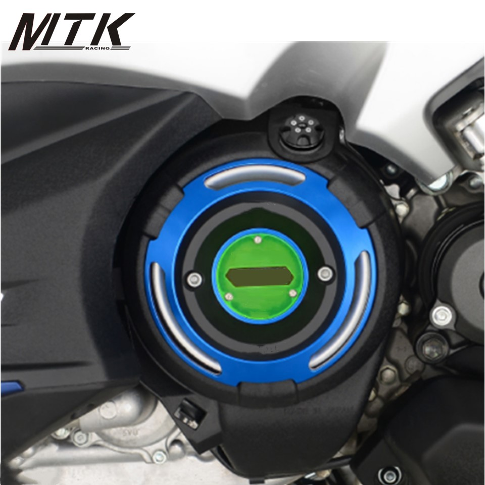 MTKRACING Motorcycle For Yamaha T MAX 530 TMAX 530 DX SX 2017-2018 CNC Engine Protective Cover TMAX Engine Stator Cover