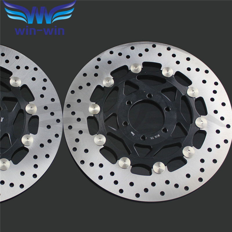 2 pieces  motorcycle  Front  Brake Disc Rotor for YAMAHA XJR400 1993 1994 1995 1996 1997 1998 1999 2000 2001 2002 2003 2004 2005 кроссовки adidas кроссовки жен m attitude revive w legink legink ftwwht