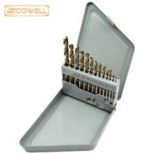 цена на 30% Off 13PCS HSS Cobalt Drill Bits Kit 1.5mm to 6.5mm Twist Drill Bit Meter Drill For stainless steel jobber drill bits