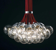 dab bulb cluster 10 lamps Spain DAB aluminum pendant lamps modern aluminum head light spanish design domestic lighting