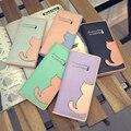 New brand porte monnaie femme 2015 Fashion Women Cat Purse Long Wallet Leather For Card Holder