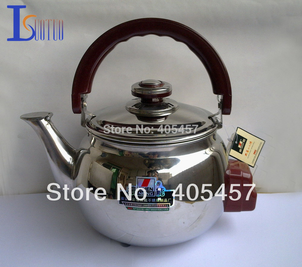 Retail high quality 5L prevent dry heating thicken stainless steel electric kettle,Free shipping retail