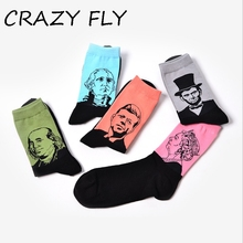 c90a513e0c6db CRAZY FLY 3D Cotton Print Art Funny Socks Winter Long Unisex Street Socks  For Women. US $1.99 / piece Free Shipping