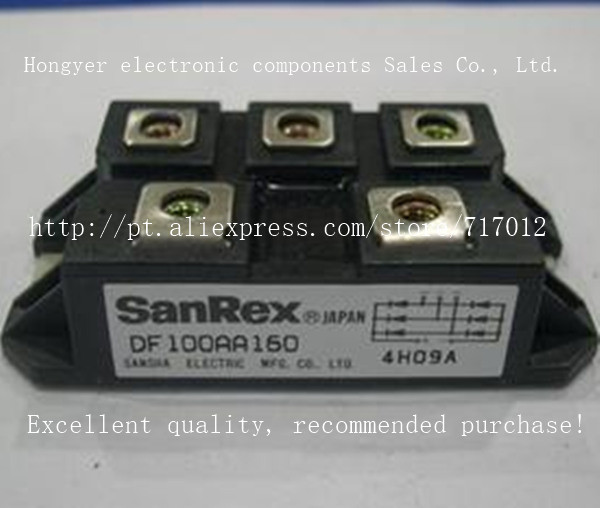 Free Shipping,DF100AA160 New products SCR Module:100A-1600V,Can directly buy or contact the seller skkt27 12e fet module 27a 1200v can directly buy or contact the seller free shipping