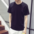 Hot Sale Short sleeved summer men's T-shirts,cotton slim fit O-Neck T shirt solid color high quality t shirt Free shipping