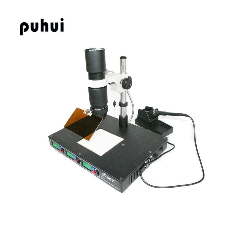 PUHUI T862 Forrasztóhegesztő IRDA Lnfrared Bga újrahasznosító - Hegesztő felszerelések - Fénykép 1