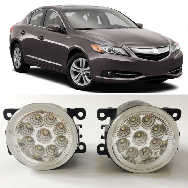 Car Styling For Acura ILX Pieces Leds Chips - Acura ilx fog lights