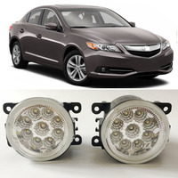 Car Styling For For Acura ILX 2013 2014 2015 2016 9 Pieces Leds Chips LED Fog