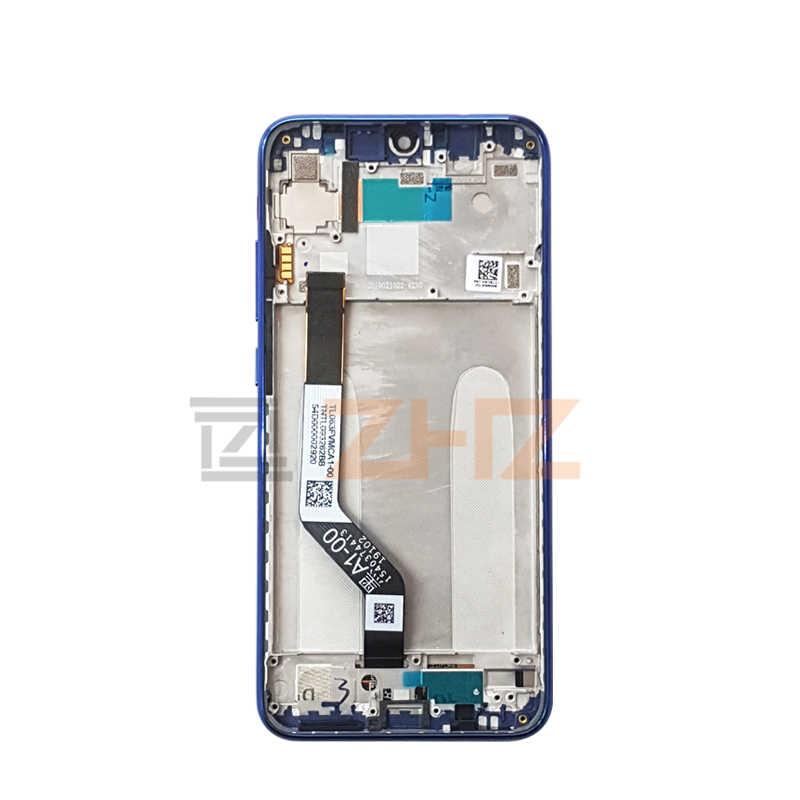 Original xiaomi redmi note 7 pantalla LCD de montaje de digitalizador con pantalla táctil para redmi note 7 pro lcd + marco 10touch piezas de reparación