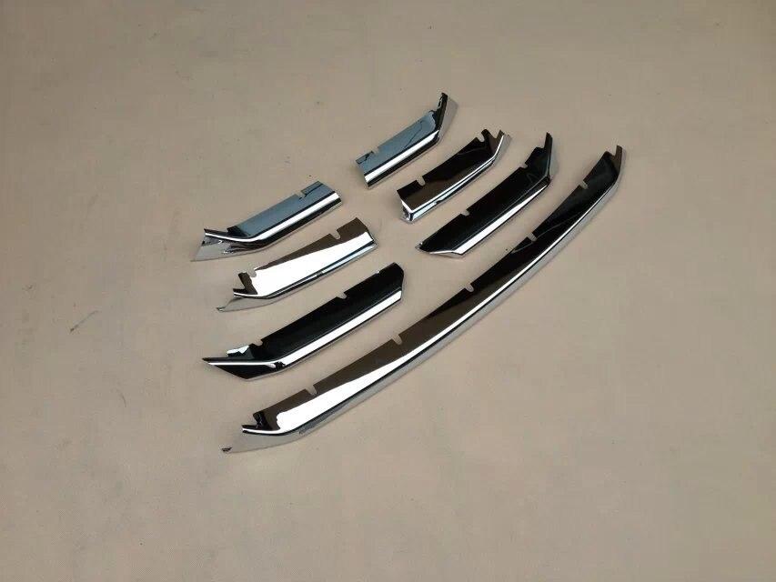 WELKINRY, авто покрытие, Стайлинг для Lexus NX,, ABS, хром, передняя головка, решетка, гоночный гриль, наклейка, литье, отделка