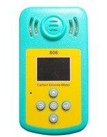 Мини Портативный двуокись углерода (CO2) концентрация детектор Профессиональный газовый анализатор ЖК дисплей Дисплей и звук световой сигна