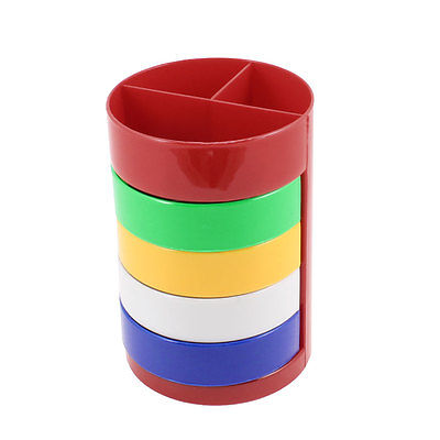 Assorted Color Plastic Cylinder Shape Ruler Pencil Pen Holder парафин oneball 4wd warm assorted