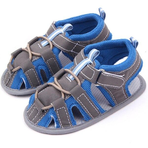 Summer Infant Baby Boy Soft Soft Non-slip Toddler Shoes Prewalker