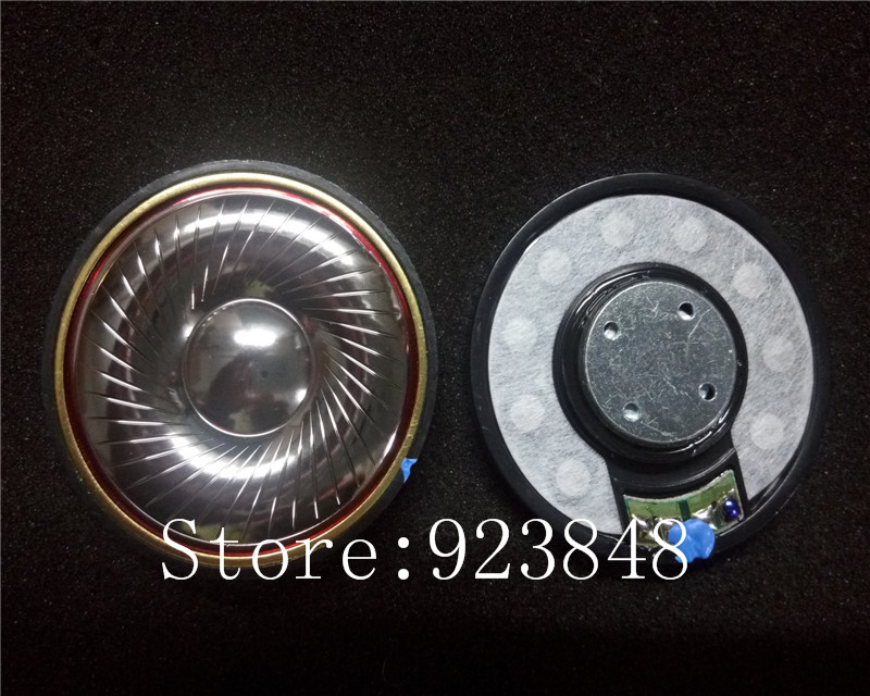50mm speaker unit vocal plated beryllium Unit high Resolve 32ohms/300ohms 1pair=2pcs 50mm speaker unit  plated beryllium unit
