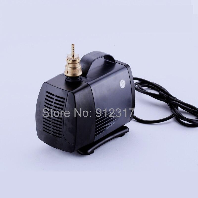 60 Вт 3м водяной насос 3000л/ч 220В для ЧПУ Фрезерный мотор шпинделя