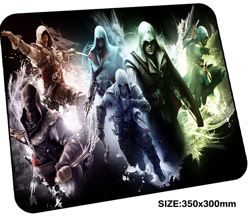 Assassins Creed mousepad gamer 350x300x3mm gaming mouse pad High-end notebook pc accesso ...