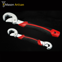 Multifunctional Wrench 2 Loaded Carbon Steel Manual Dual Universal Quick Wrenches Hand Tools 2 Pack Special