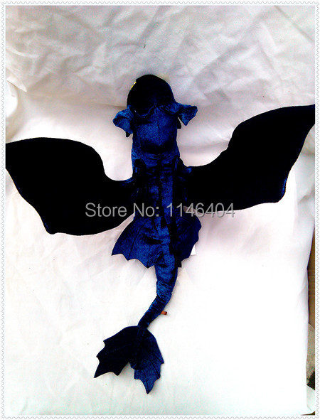 How to Train your Dragon 2 plush Character toy Toothless Night Fury plush doll new